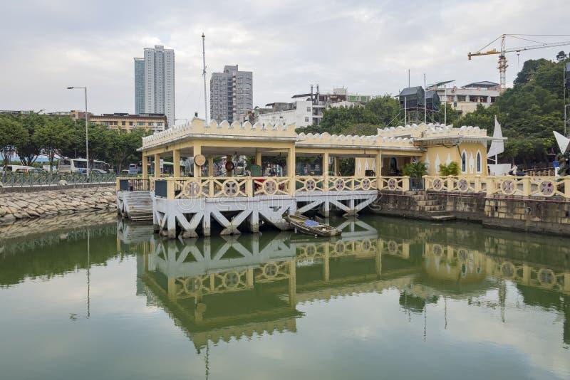 Morski muzeum przy Macau zdjęcie royalty free