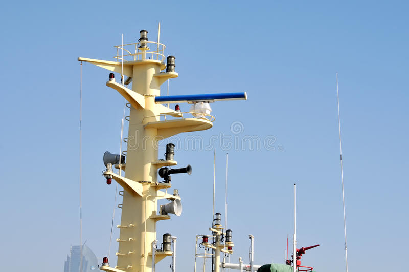 Morski radar obrazy royalty free