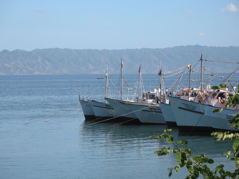 Morski widok z łodzi Sucre stanem Wenezuela obrazy stock