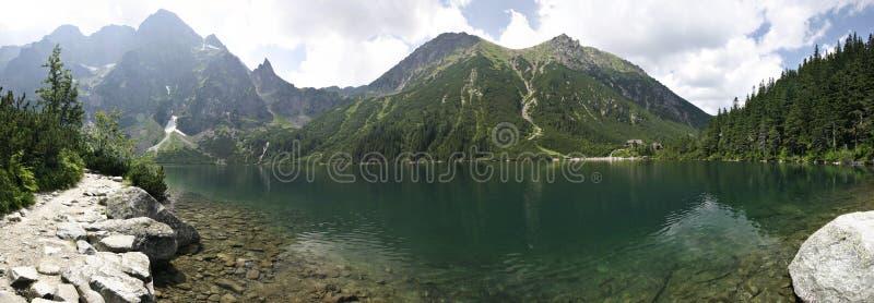 Download Morskie Oko mountain lake stock photo. Image of poland - 3972554