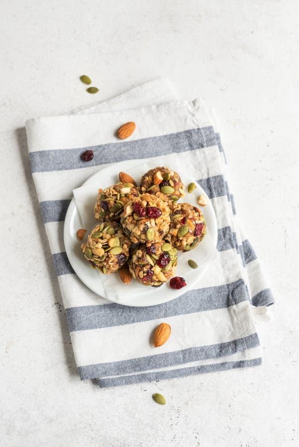 Morsures de granola d'?nergie photos stock
