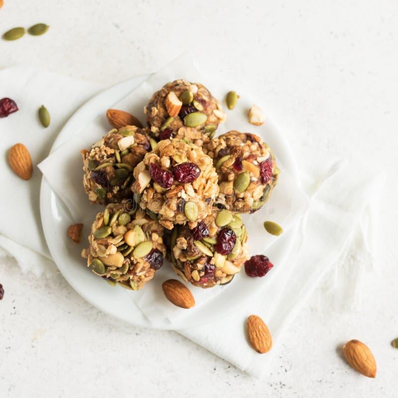 Morsures de granola d'?nergie photo stock