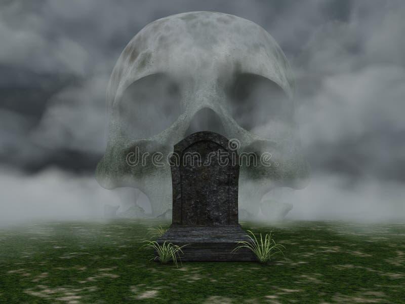 Mort illustration stock