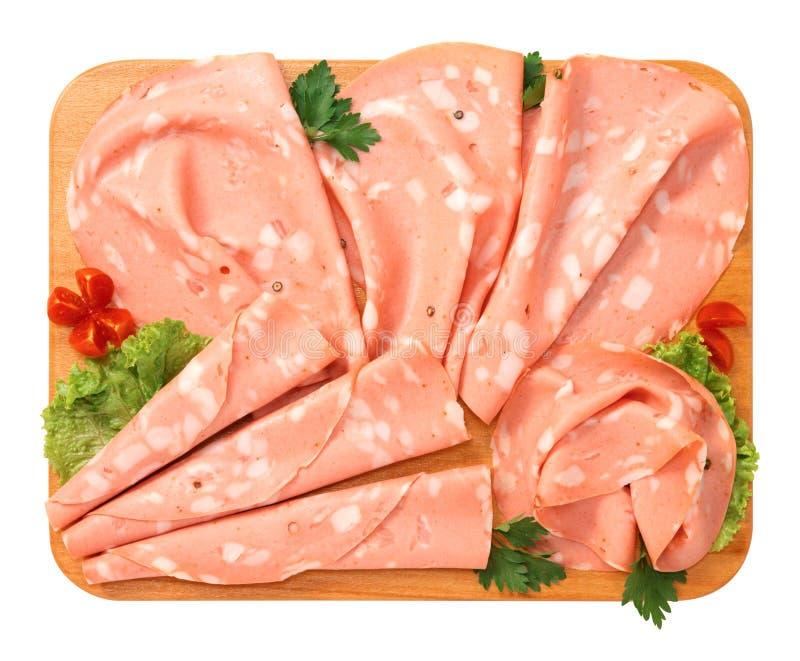 Mortadella von Bologna lizenzfreies stockbild