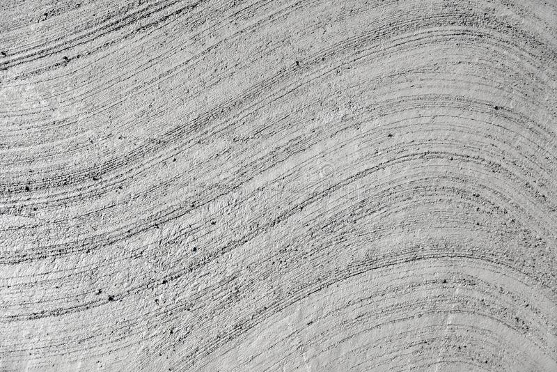 Mortaio grigio del cemento con i pettini, per wallpapering fotografia stock libera da diritti