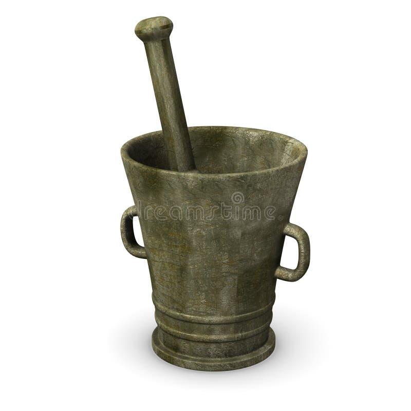 Download Mortar stock illustration. Illustration of graphics, pill - 11894956