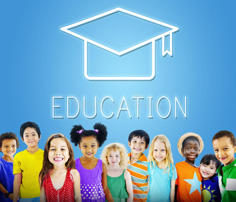 Mortar Board Education Success Icon Concept.  royalty free stock photo