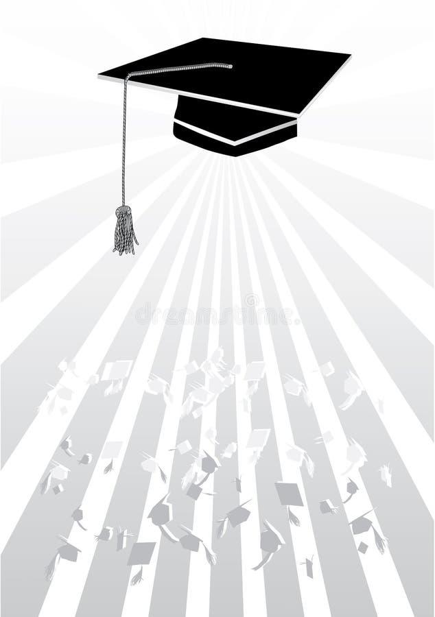 Download Mortar In Graduation In Grey Stock Vector - Image: 19778271