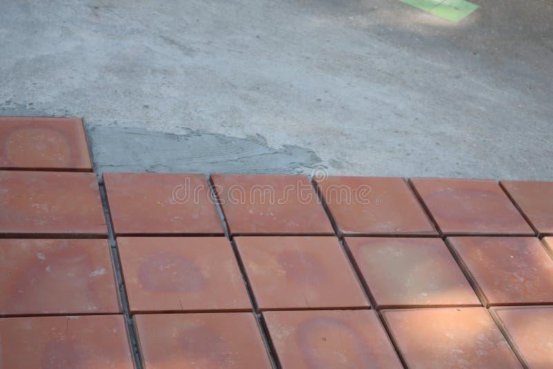 Mortar Masonry Street Walkway Imagens de foco selecionáveis para fundos imagens de stock