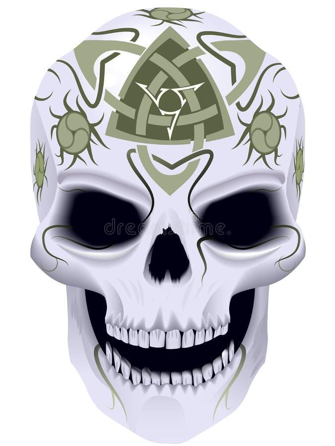 Morte con celtic un tatuaggio royalty illustrazione gratis