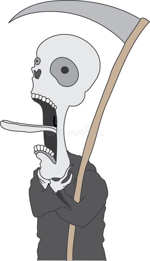 Morte di morte illustrazione vettoriale