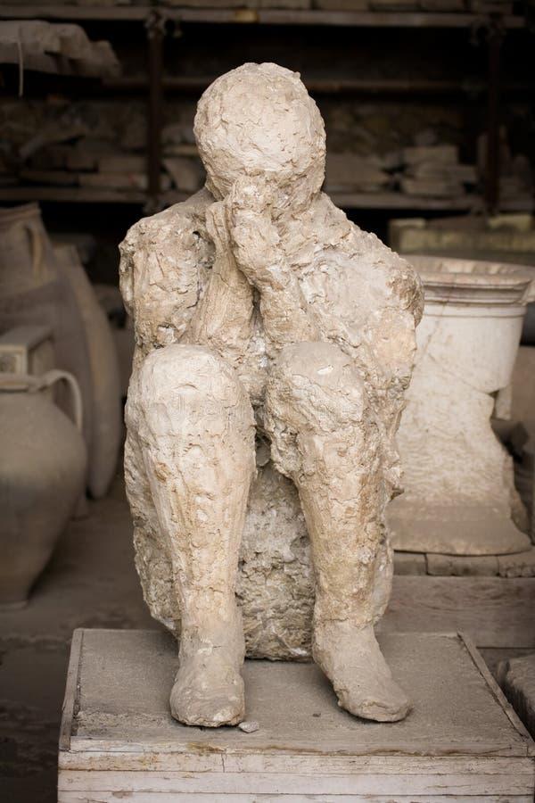 Morte a Pompeii immagine stock libera da diritti