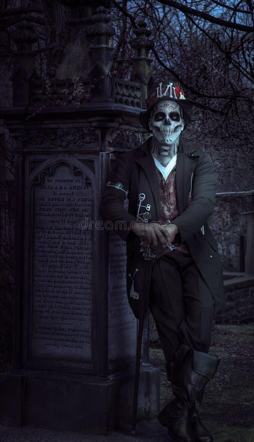 Morte que espera nunca imagens de stock