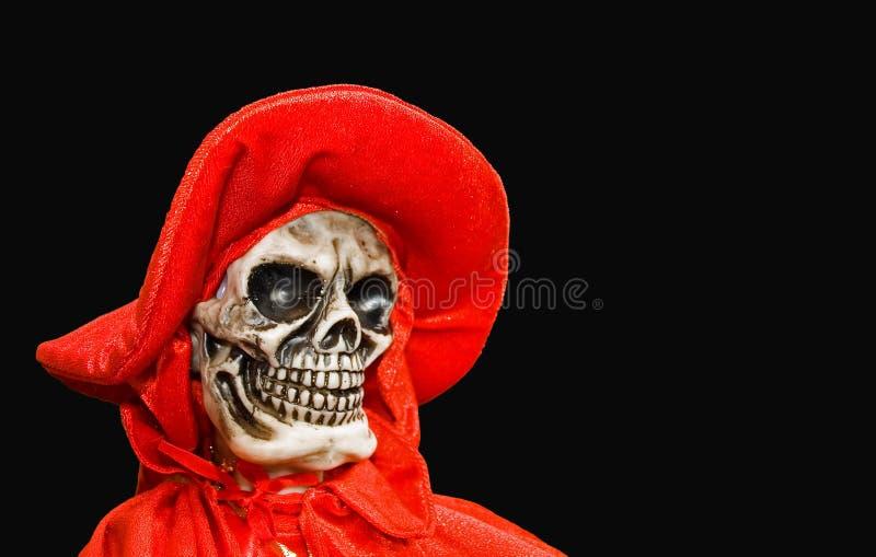 Morte rossa - isolata immagini stock libere da diritti