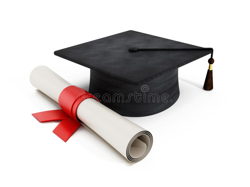 Mortelbräde och diplom