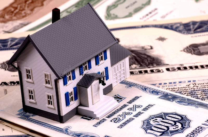 Mortgage royalty free stock image