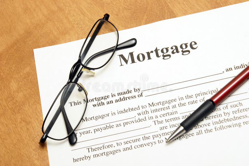 Download Mortgage Agreement stock photo. Image of finance, ballpoint - 30772478