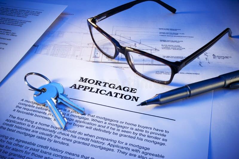 Download Mortgage Application Keys Business Stock Image - Image: 24568499