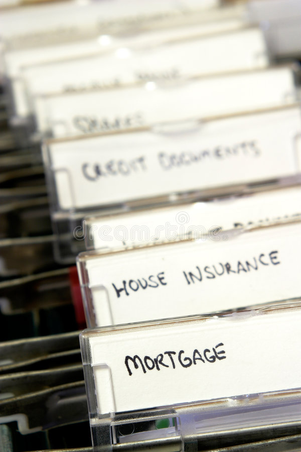 Free Mortgage Documents Stock Images - 1304554