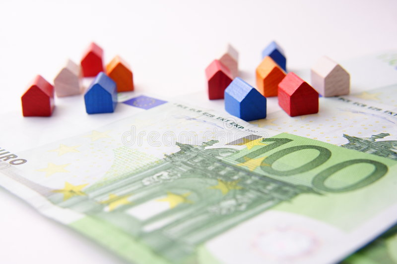 Mortgage houses stock images