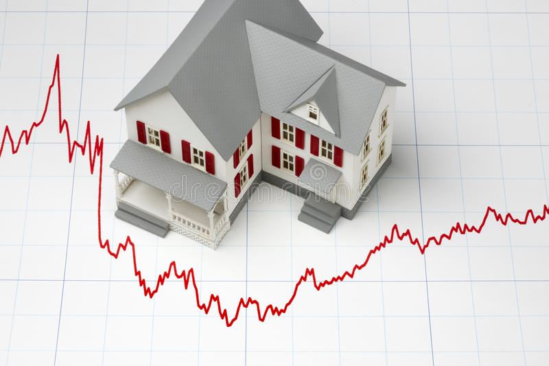 Mortgage Rates royalty free stock photography
