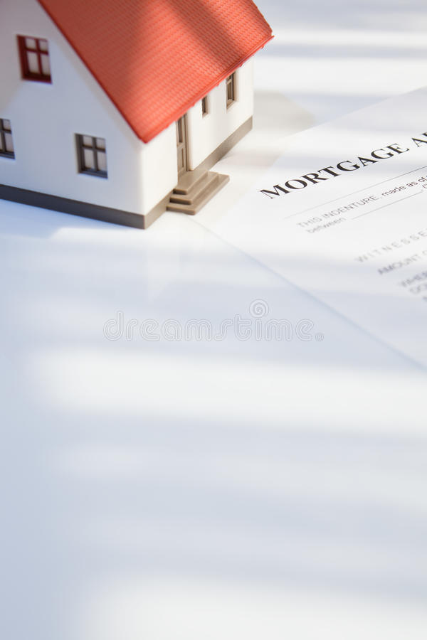Download Mortgage For Real Estate Royalty Free Stock Image - Image: 16246526