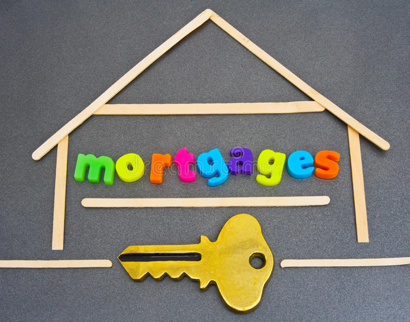 Download Mortgages; house loans. stock image. Image of advert - 20972161