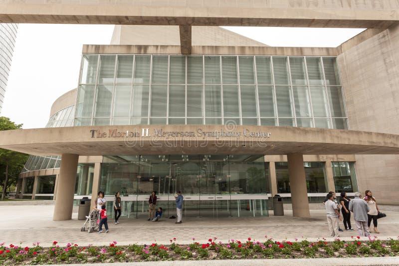 Morton H Centro da sinfonia de Meyerson, Dallas imagens de stock royalty free