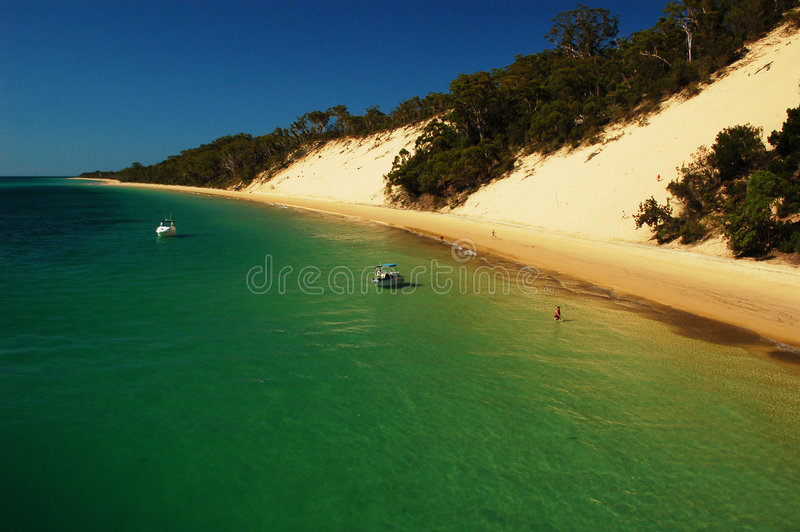 Morton Insel stockbild