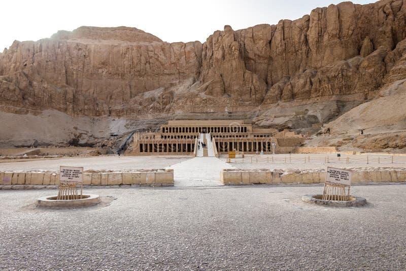 Mortuary ναός της βασίλισσας Hatshepsut στοκ φωτογραφία με δικαίωμα ελεύθερης χρήσης