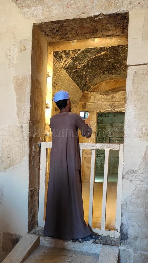 Mortuary Temple of Hatshepsut stock fotografie