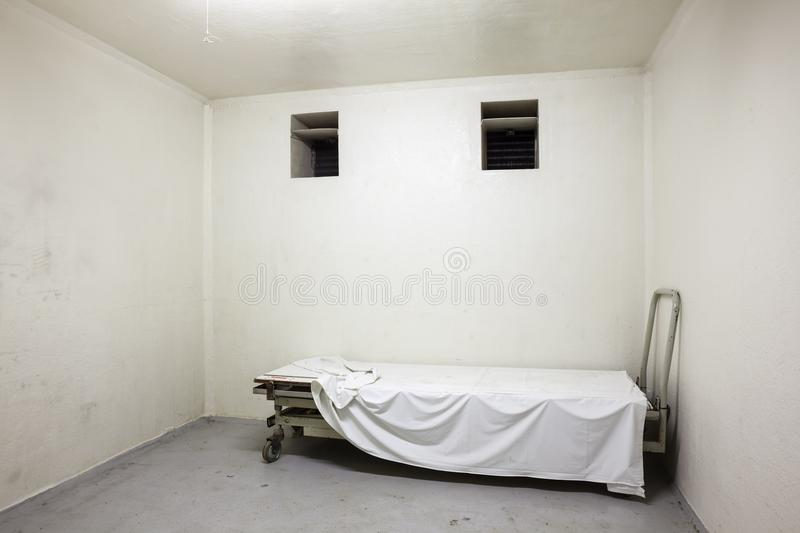 Corpse storage place royalty free stock photo