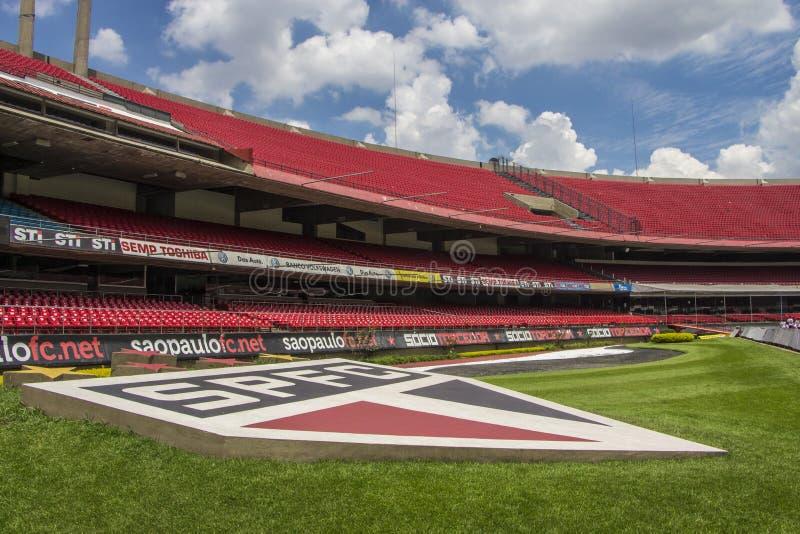 Morumbi stadium - Sao Paulo - Brazil royalty free stock photography
