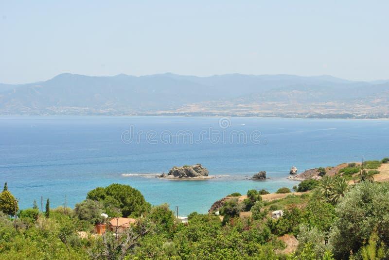 Morze Śródziemnomorskie obrazy royalty free
