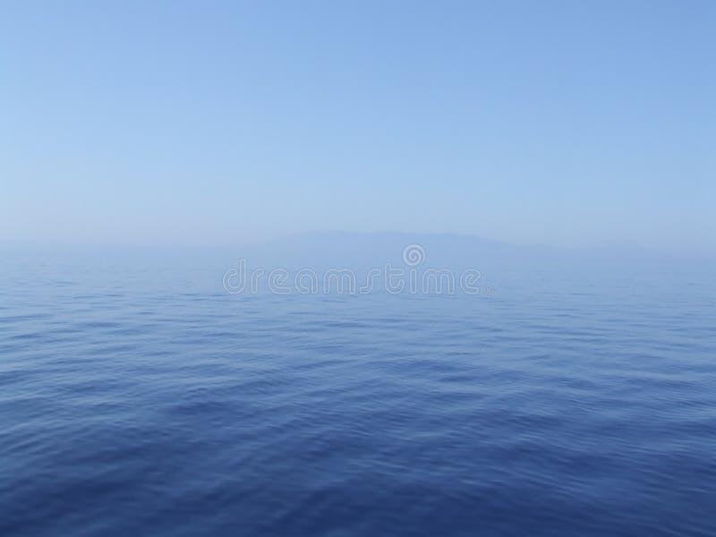 Morze Śródziemnomorskie blisko Turcia obraz stock