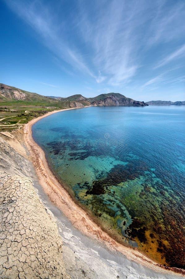 morze bay obraz royalty free
