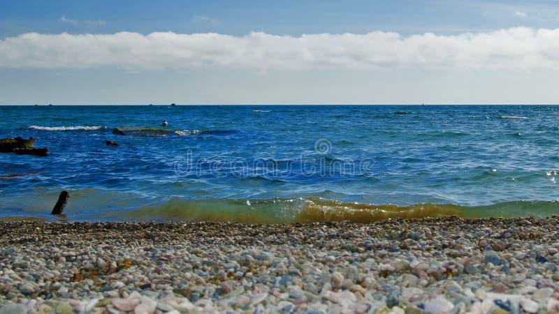 morze czarne crimea obrazy stock