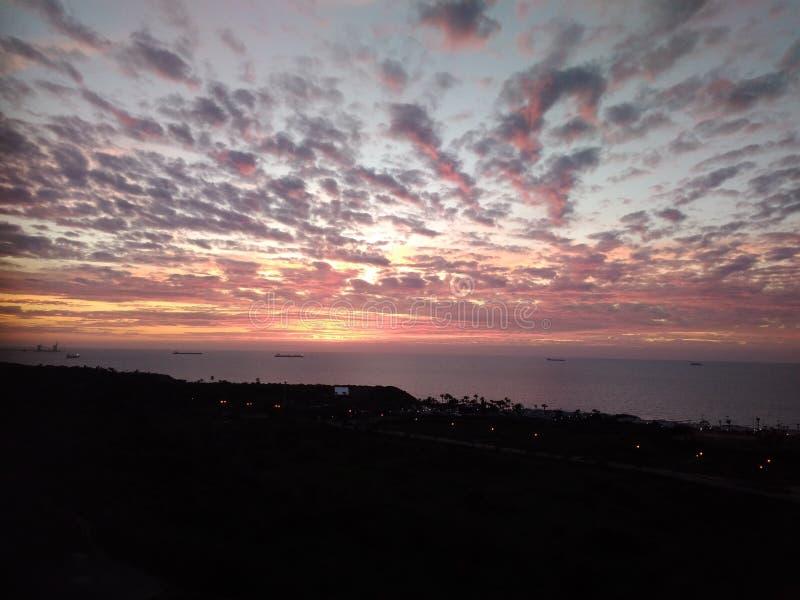Morze i niebo obraz stock