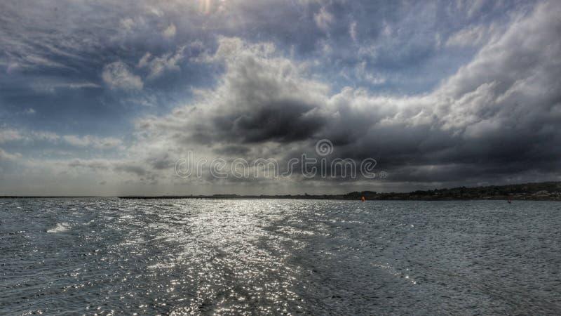 Morze i niebo obrazy royalty free