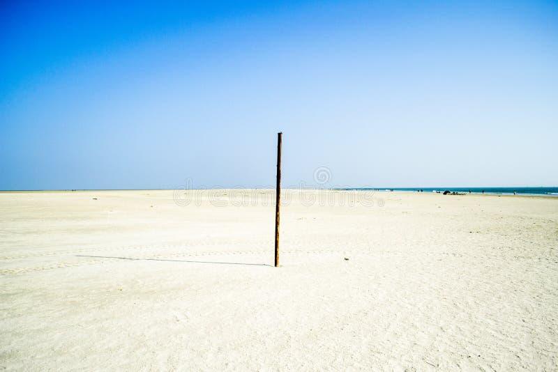 Morze i Quicksand zdjęcia royalty free