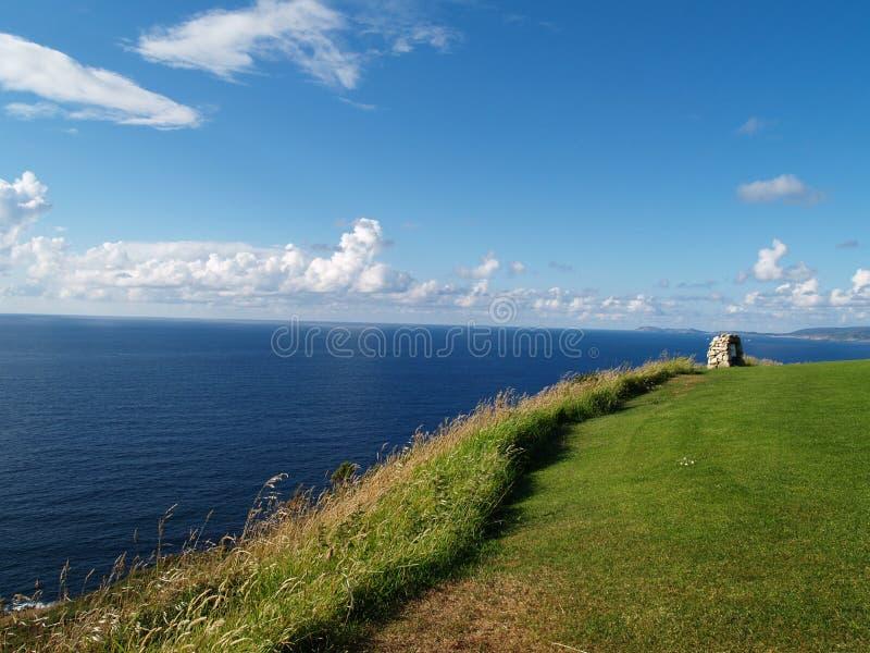 Morze i ziemia zdjęcie stock