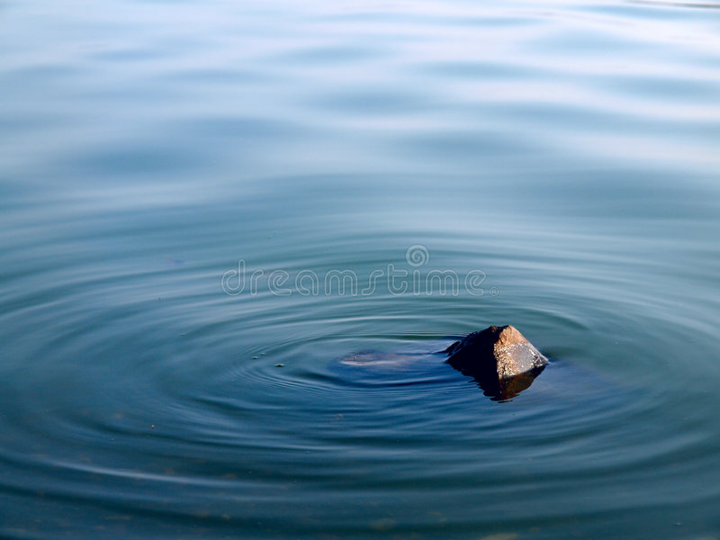 Morze kamień obraz royalty free