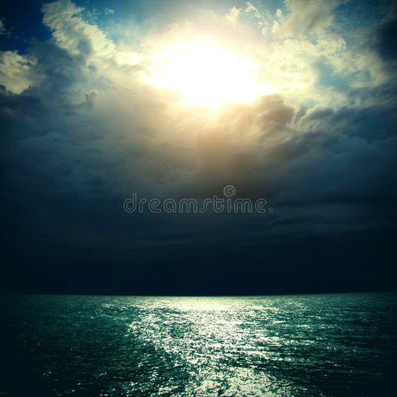 Morze krajobraz zdjęcia stock