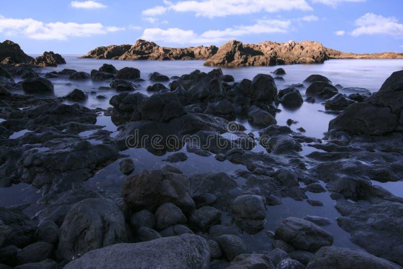 Download Morze Krajobraz W Tenerife Wyspa Kanaryjska Tenerife Długo Ekspozycji Zdjęcie Stock - Obraz złożonej z córka, sceniczny: 106917702