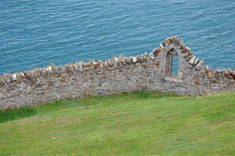 morze okno zdjęcie royalty free
