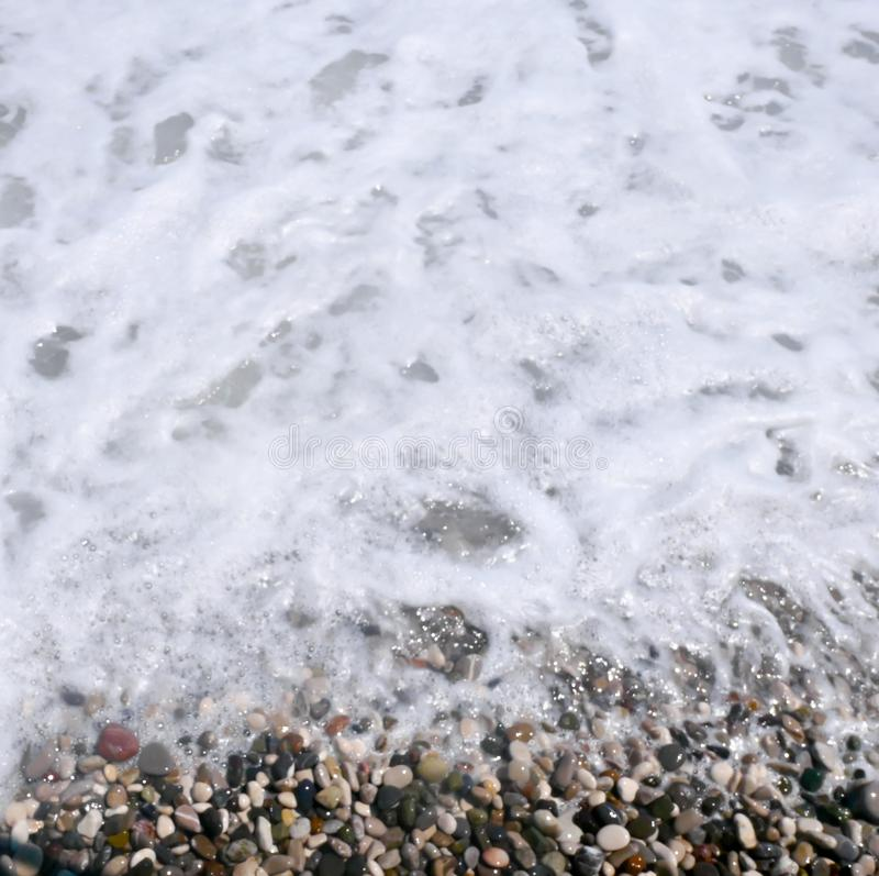 Morze piana fotografia royalty free