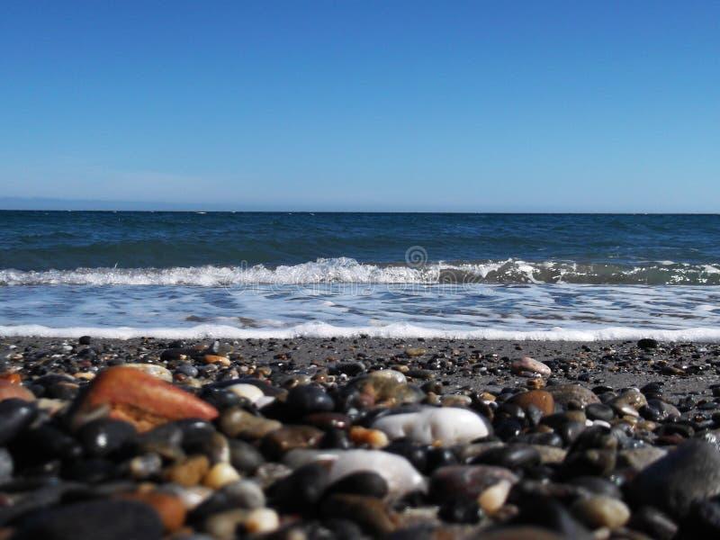 morze, piasek obraz royalty free