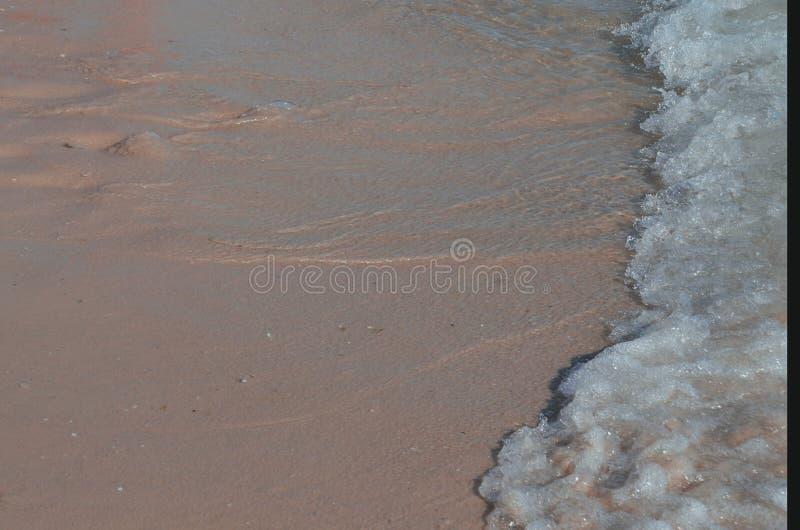 Morze pla?a w lecie zdjęcia stock