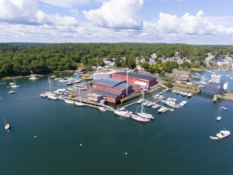 Morze, przylądek Ann, Massachusetts, usa zdjęcie royalty free