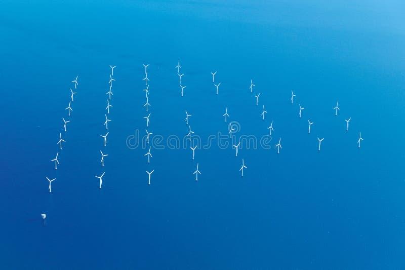 morze rolny wiatr obraz royalty free
